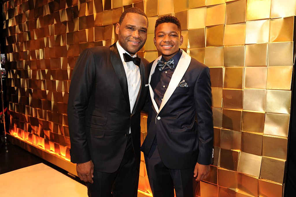 Actor Anthony Anderson (L) and Nathan Anderson attend the 67th Annual Primetime Emmy Awards at Microsoft Theater on September 20, 2015 in Los Angeles, California   Source: Getty Images