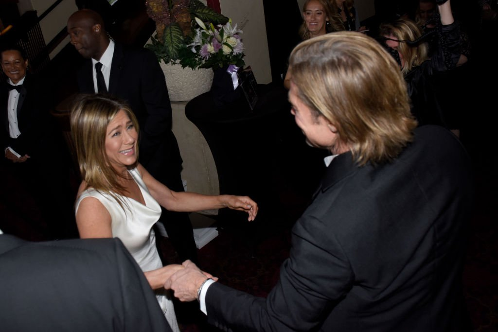 Brad Pitt and Jennifer Aniston attend the 26th Annual Screen Actors Guild Awards at The Shrine Auditorium in Los Angeles, California | Photo: Getty Images