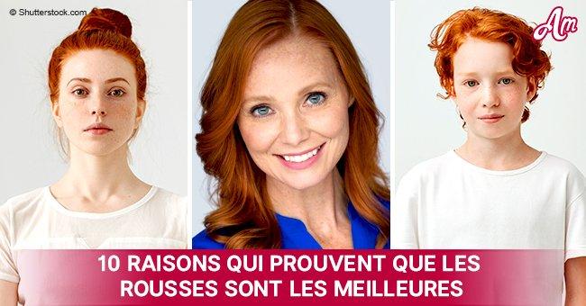 10 raisons pour lesquelles les personnes aux cheveux roux sont spéciales, et il n'y a pas que l'apparence