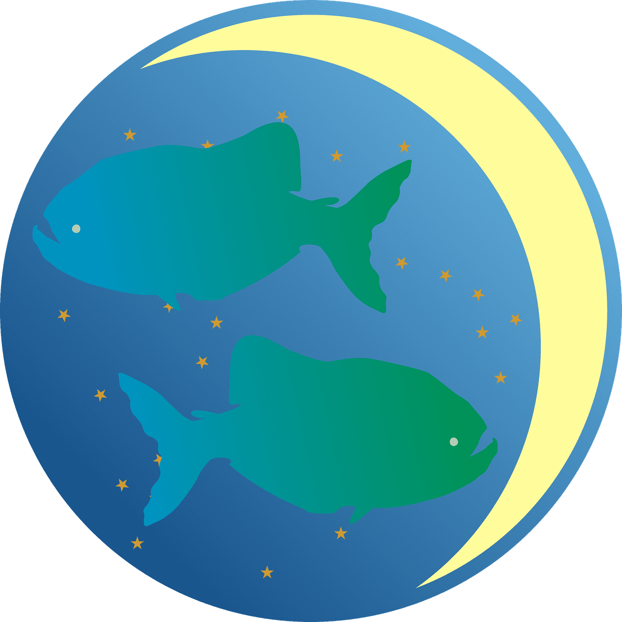 A depiction of the Pisces star sign   Photo: Pixabay/13smok
