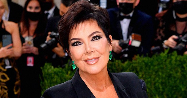 Kris Jenner at theMet Gala held at the Metropolitan Museum of Art on September 13, 2021, in New York | Photo: AngelaWeiss/AFP/Getty Images
