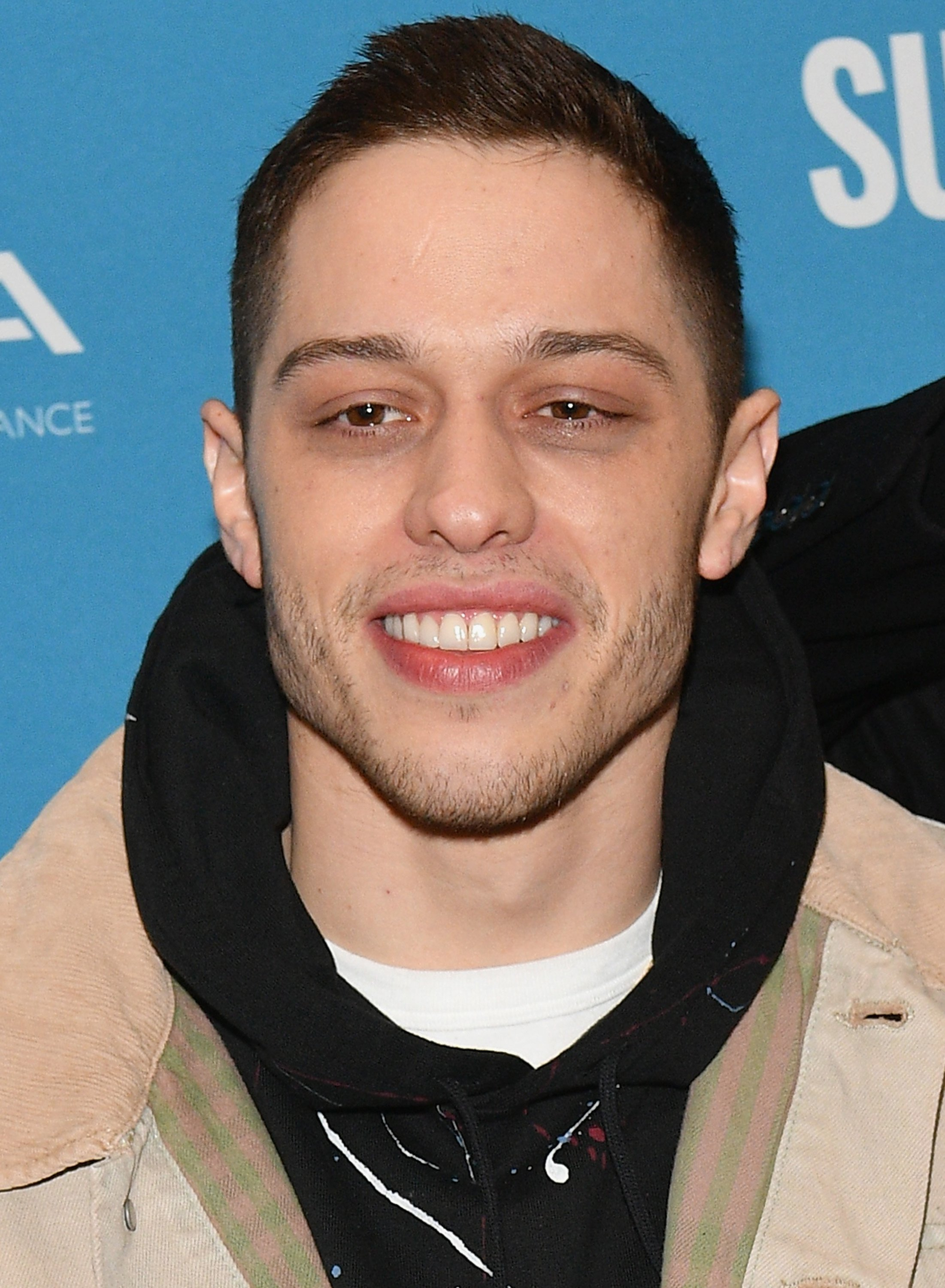 "Pete Davidson attends the premiere of ""Big Time Adolescence"" at the 2019 Sundance Film Festival in Park City, Utah on January 28, 2019 