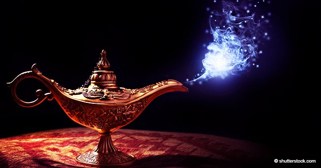 Man Finds a Magic Lamp