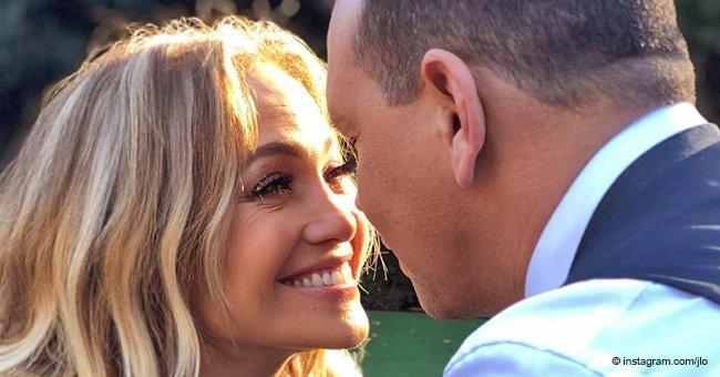 Novio de Jennifer López puso todo su amor en tierna respuesta a mensaje de aniversario