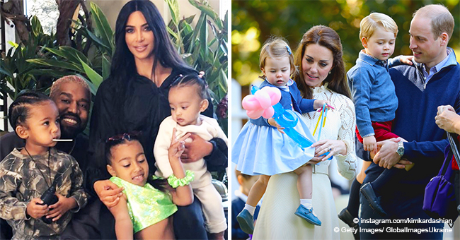 Kim Kardashian and the Royal Family's Kids Have These Things in Common