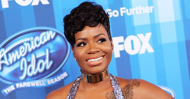 Fantasia's Daughter Gives Glimpse at Her Look in a Black Leather Jacket with Cute Earrings