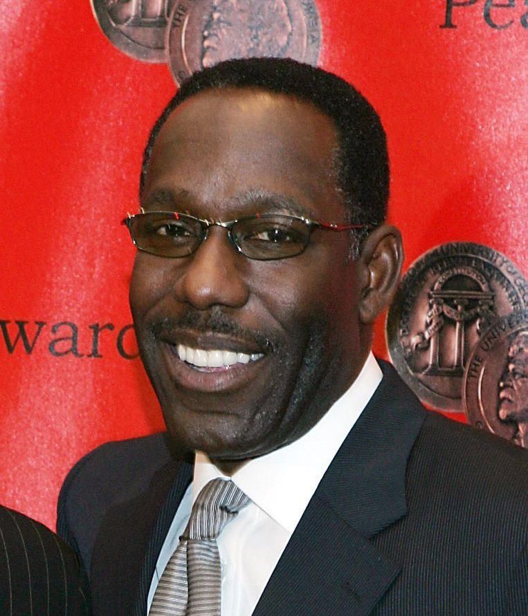 James McDaniel at the 65th Annual Peabody Awards in New York City.   Source: Wikimedia Commons
