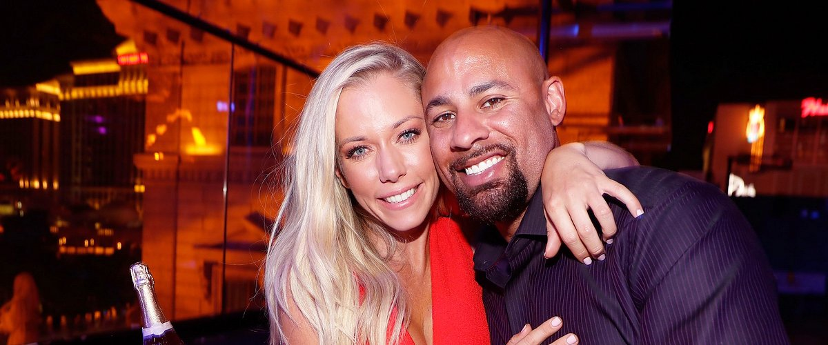 "Kendra Wilkinson and Hank Baskett celebrate Wilkinson's birthday during the premiere celebration for WE TV's ""Kendra on Top"" on June 8, 2017 