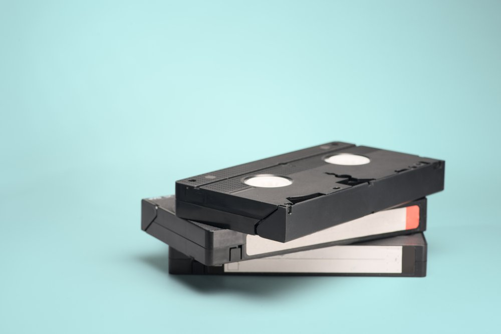 VHS Tapes | Photo: Shutterstock