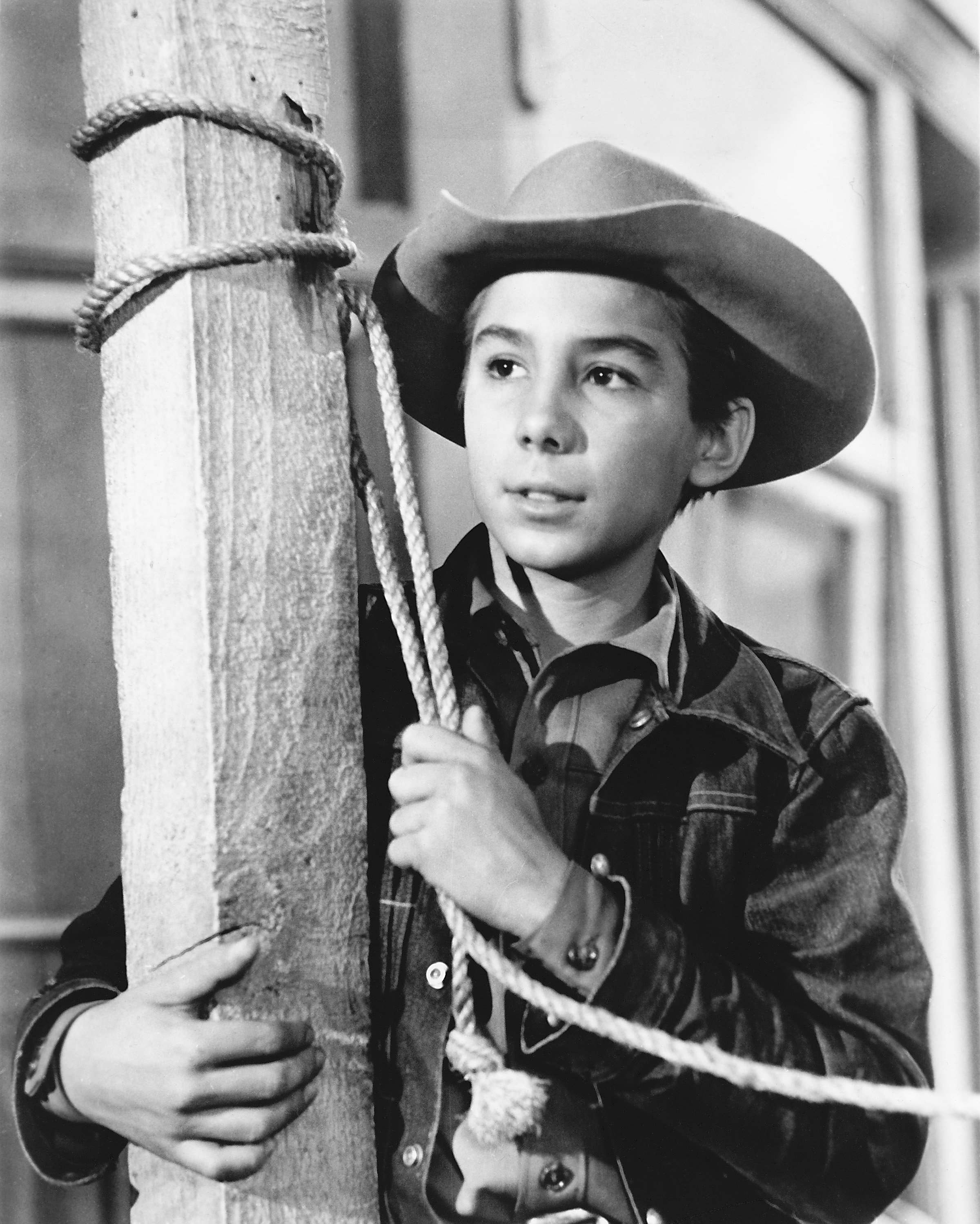The younger Johnny Crawford as Mark McCain in the US TV western series 'The Rifleman', circa 1960 | Photo: Getty Images