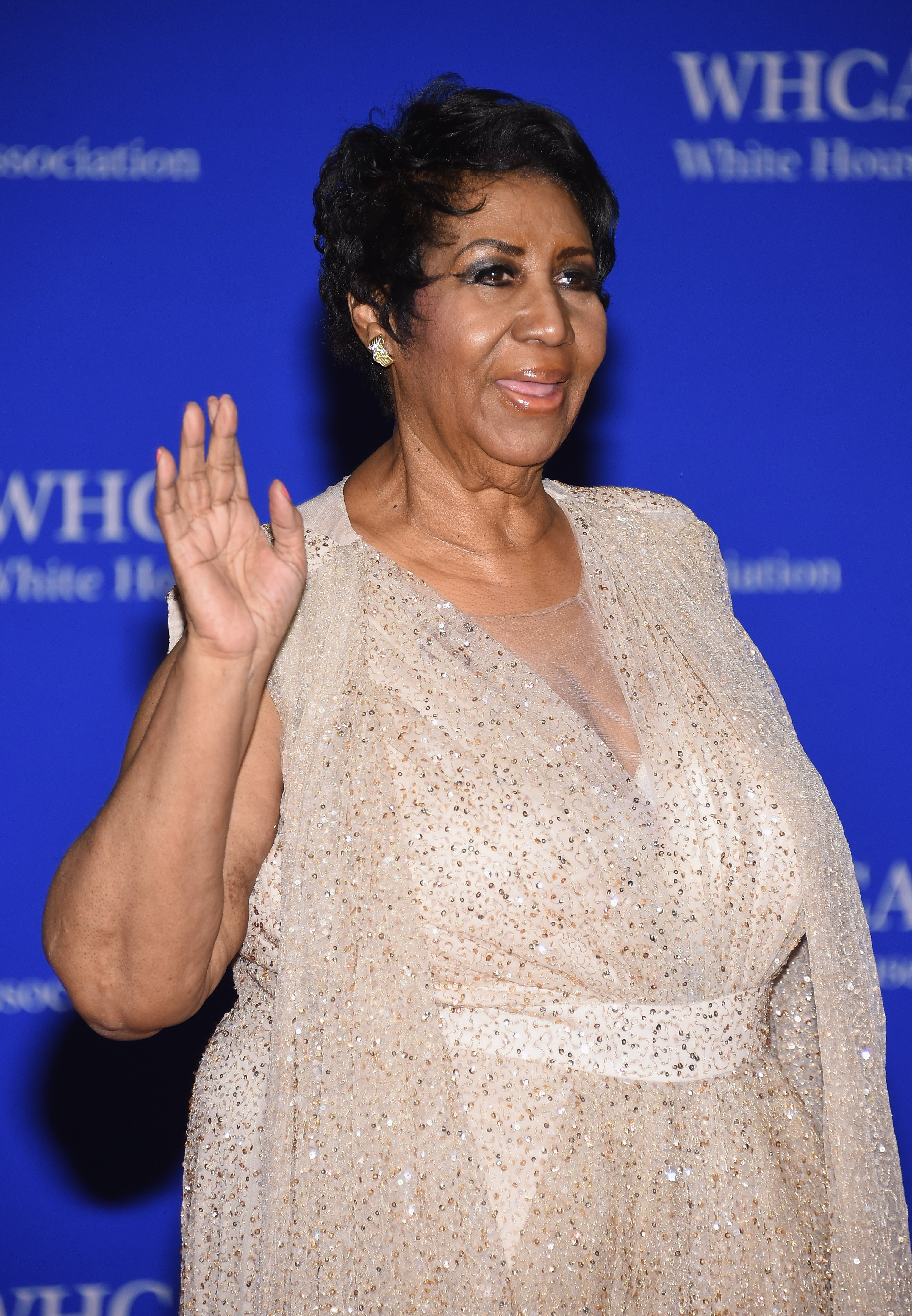 Aretha Franklin attends the 102nd White House Correspondents' Association Dinner on April 30, 2016 in Washington, DC. | Source: Getty Images