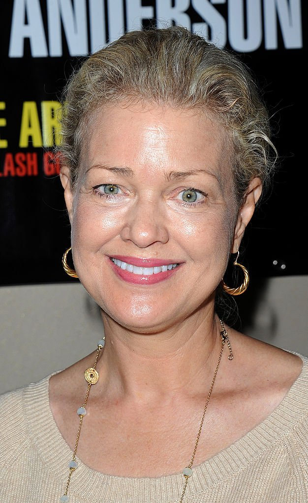 Melody Anderson le 12 avril 2014 à Los Angeles. l Source : Getty Images