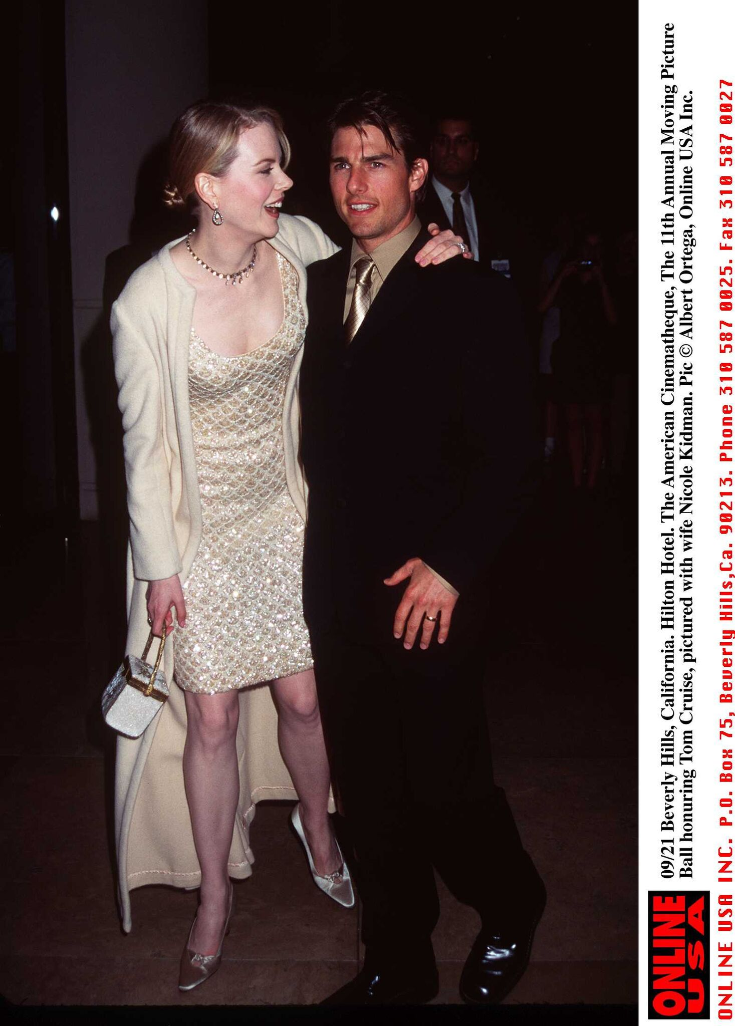 Tom Cruise Ball. Tom and wife Nicole Kidman | Getty Images