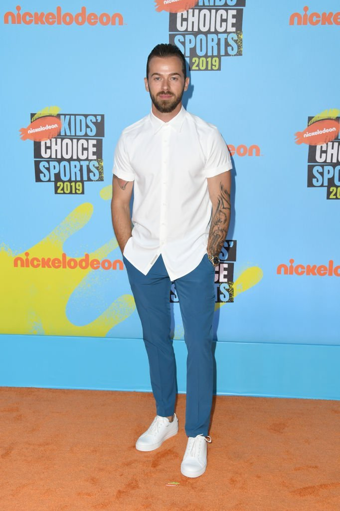 Artem Chigvintsev at Nickelodeon Kids' Choice Sports 2019. | Source: Getty Images