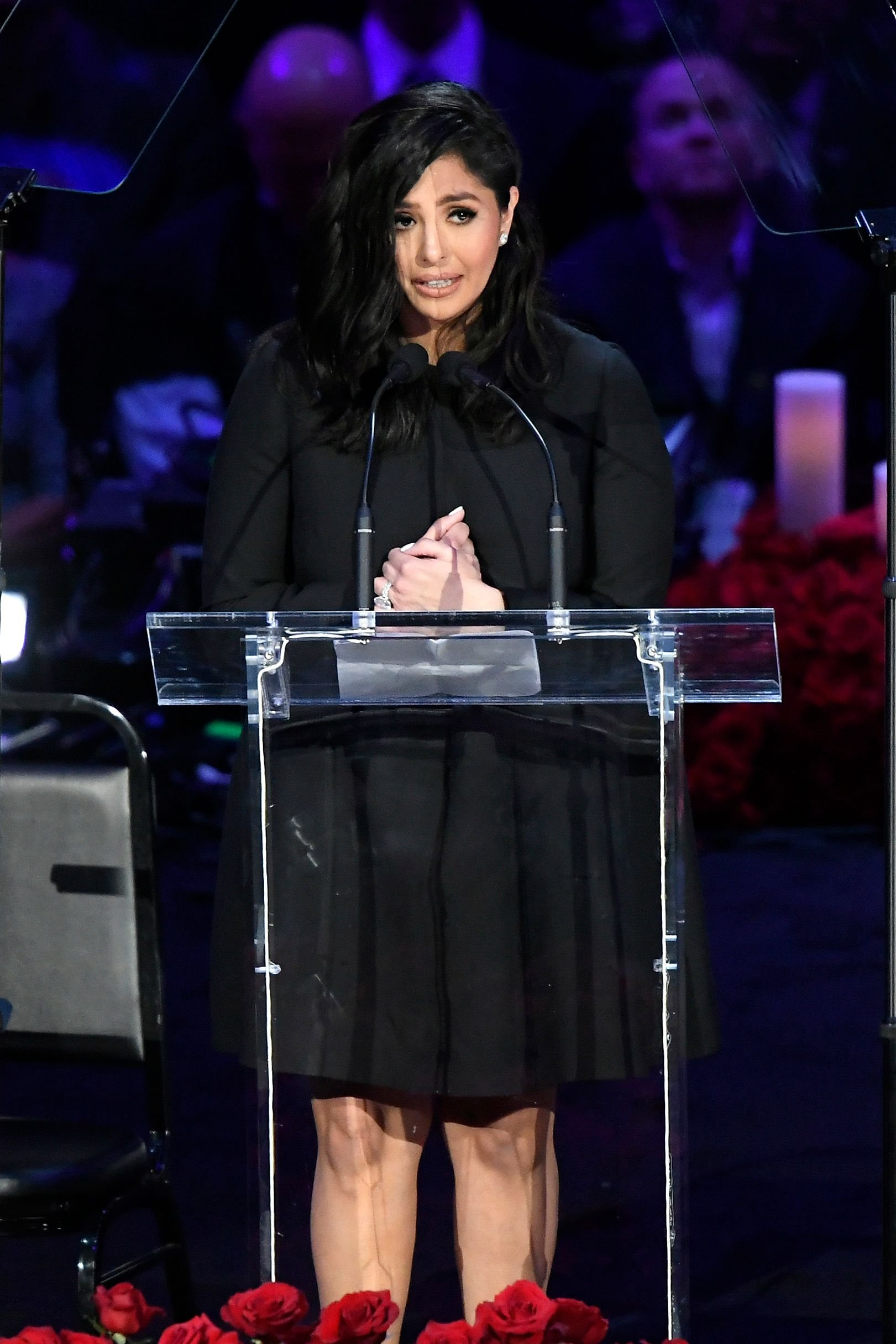 Vanessa Bryant at The Celebration of Life for Kobe & Gianna on February 24, 2020 in California. | Photo: Getty Images
