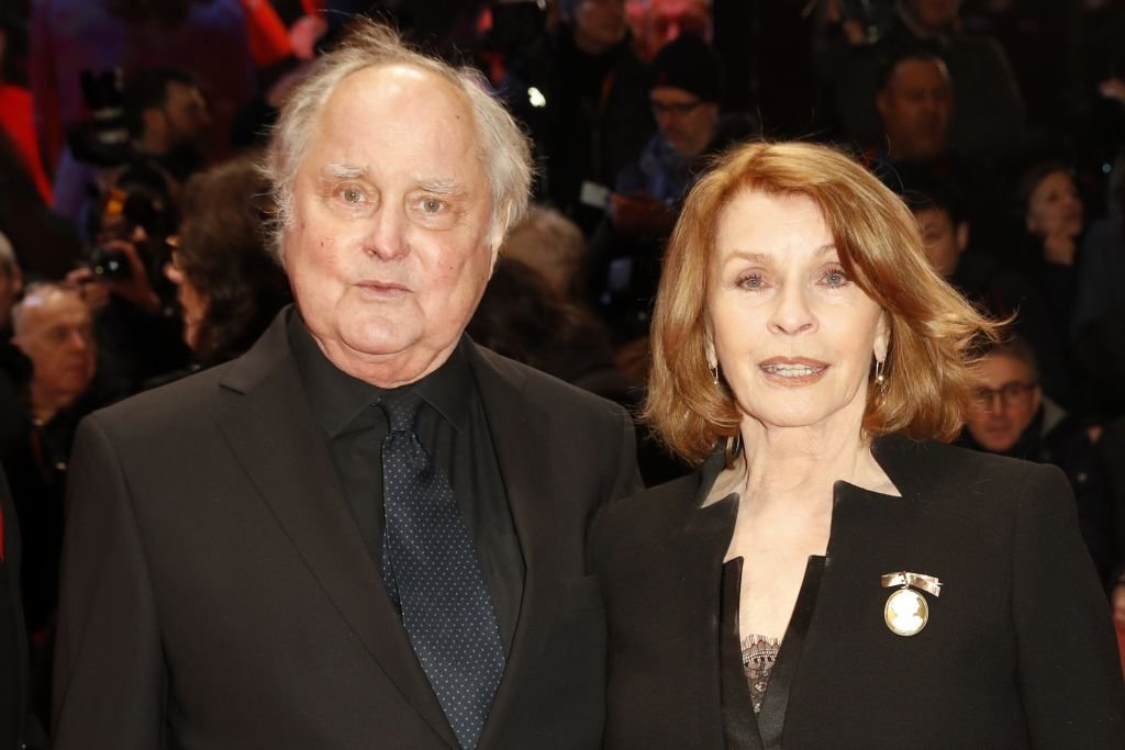 "Michael Verhoeven und Senta Berger nehmen an der Eröffnungsfeier & Premiere der ""Isle of Dogs"" während der ""68. Internationalen Filmfestspiele Berlinale"" am 15. Februar 2018 im Berlinale Palace in Berlin teil. (Foto: Franziska Krug) I Getty Images"