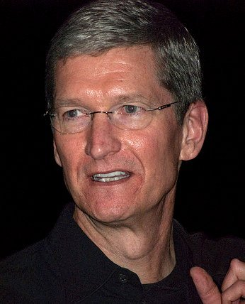 CEO of Apple, Tim Cook/ Source: Wikimedia