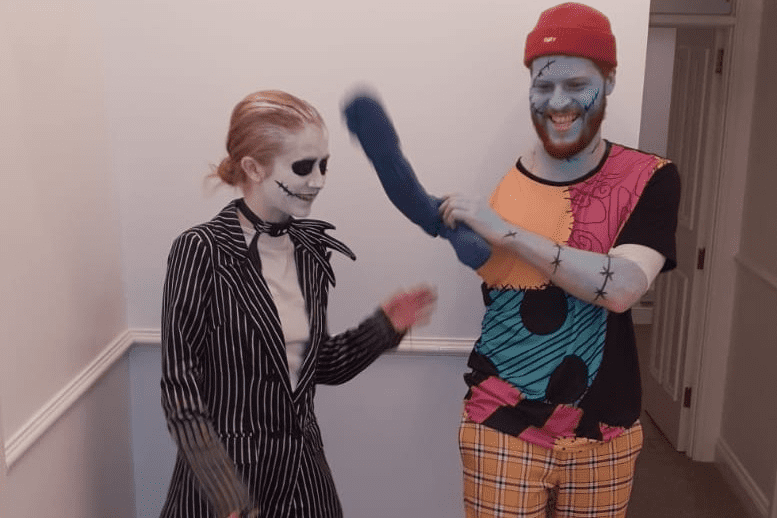 Becky et Scott en Mr Jack et Sally / Source : Imgur