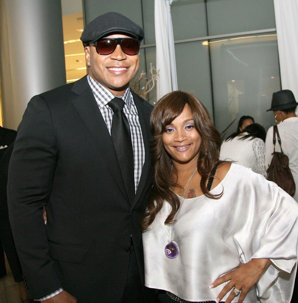 LL Cool J and wife Simone Smith attend Simone | Smith Fall Jewelry Collection Debut on Fashion's Night Out at Bloomingdale's | Photo: Getty Images