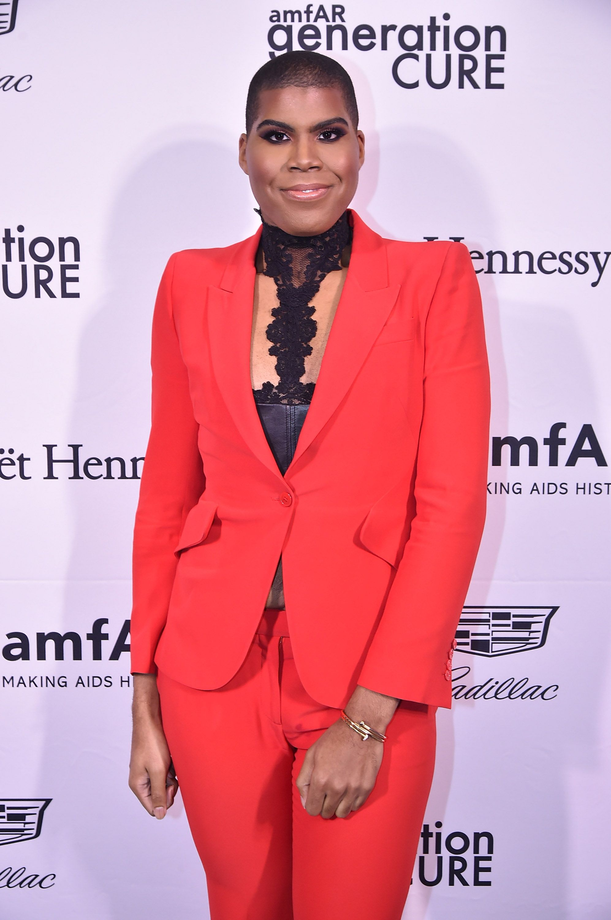 EJ Johnson at the amfAR GenerationCure Holiday Party at Cadillac House on December 7, 2016, in New York City | Photo: Theo Wargo/Getty Images