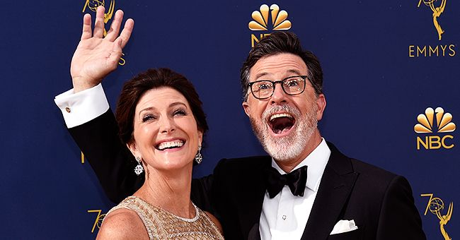 Stephen Colbert Has Been with His Wife Evelyn for 26 Years and It All Started with an Invite from His Mom