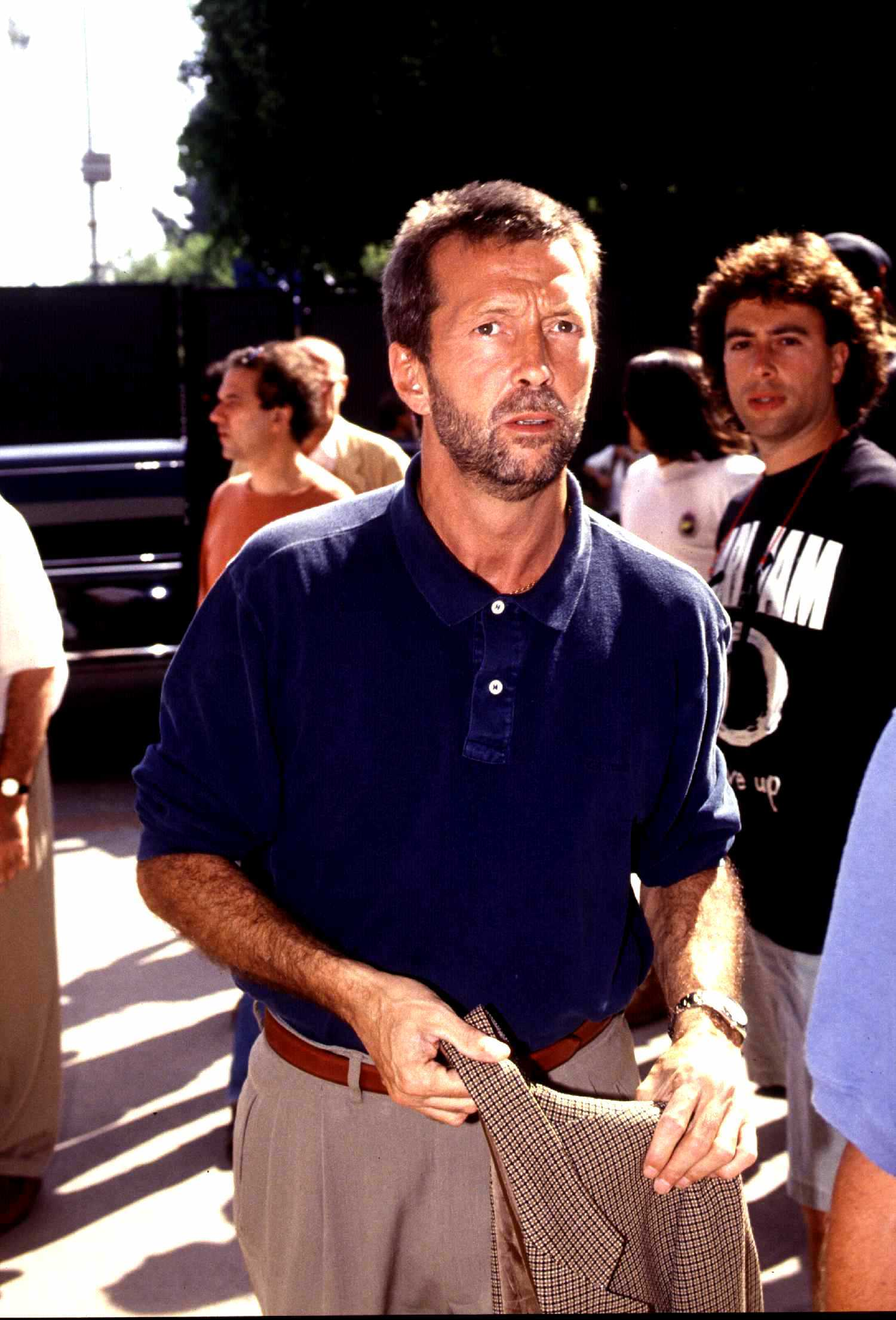 Eric Clapton at the MTV Awards in 1992, Universal City. | Source: Getty Images
