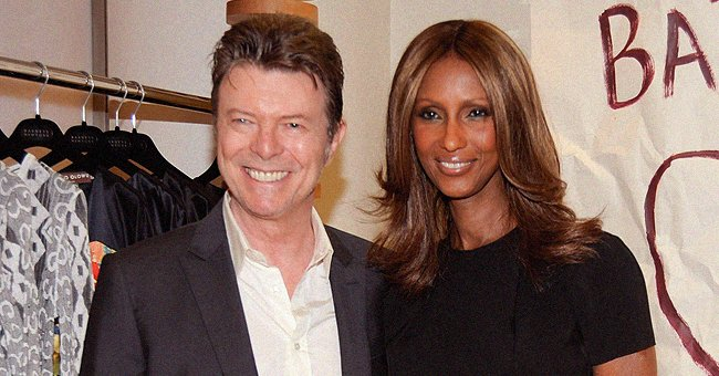 David Bowie's Widow Iman Sets Hearts Racing in a Selfie Flaunting Curly Hair & Flawless Makeup
