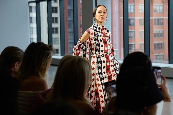 Pat Cleveland walks the runway at the Hellessy front row during New York Fashion Week on February 8, 2019, in New York City. | Source: Getty Images.