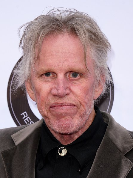 Gary Busey at CBS Studios, California.| Photo: Getty Images.