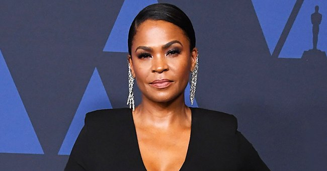 'Soul Food' Star Nia Long Poses in Face Masks with Her Youngest Son in Braids for a Selfie