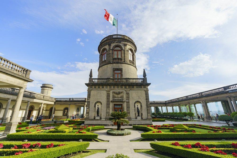 Castillo de Chapultepec. Fuente: Shutterstock
