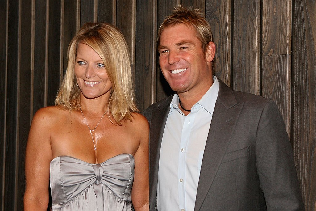 Simone Warne and Shane Warne attend the opening party of the Crown Metropol hotel on April 21, 2010   Photo: Getty Images