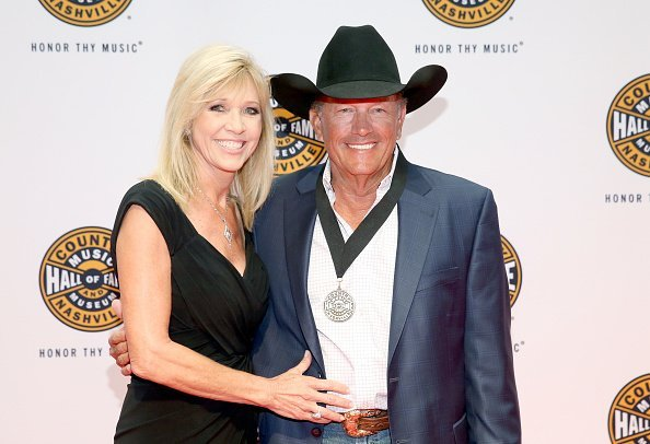 Norma Strait and George Strait at Country Music Hall of Fame and Museum on October 22, 2017 in Nashville, Tennessee | Photo: Getty Images