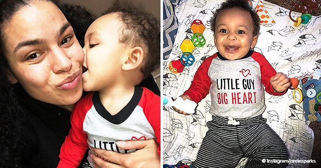 Jordin Sparks makes hearts melt with sweet photos of her baby boy on his 9-month birthday