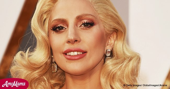Lady Gaga shares an unrecognizable throwback photo of herself rocking black hair