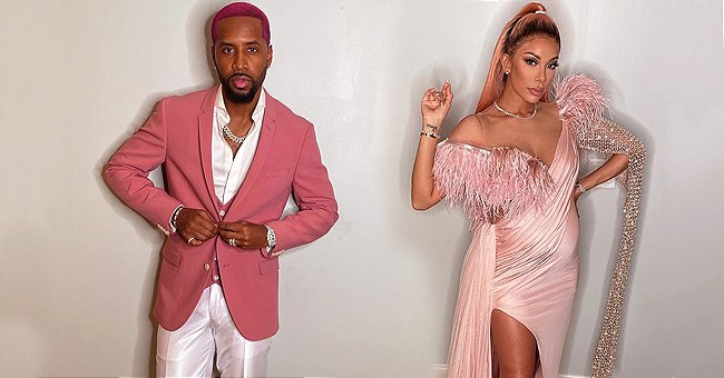 Safaree and Pregnant Wife Erica Mena from 'Love and Hip Hop' Have a Lavish Met-Gala Themed Baby Shower