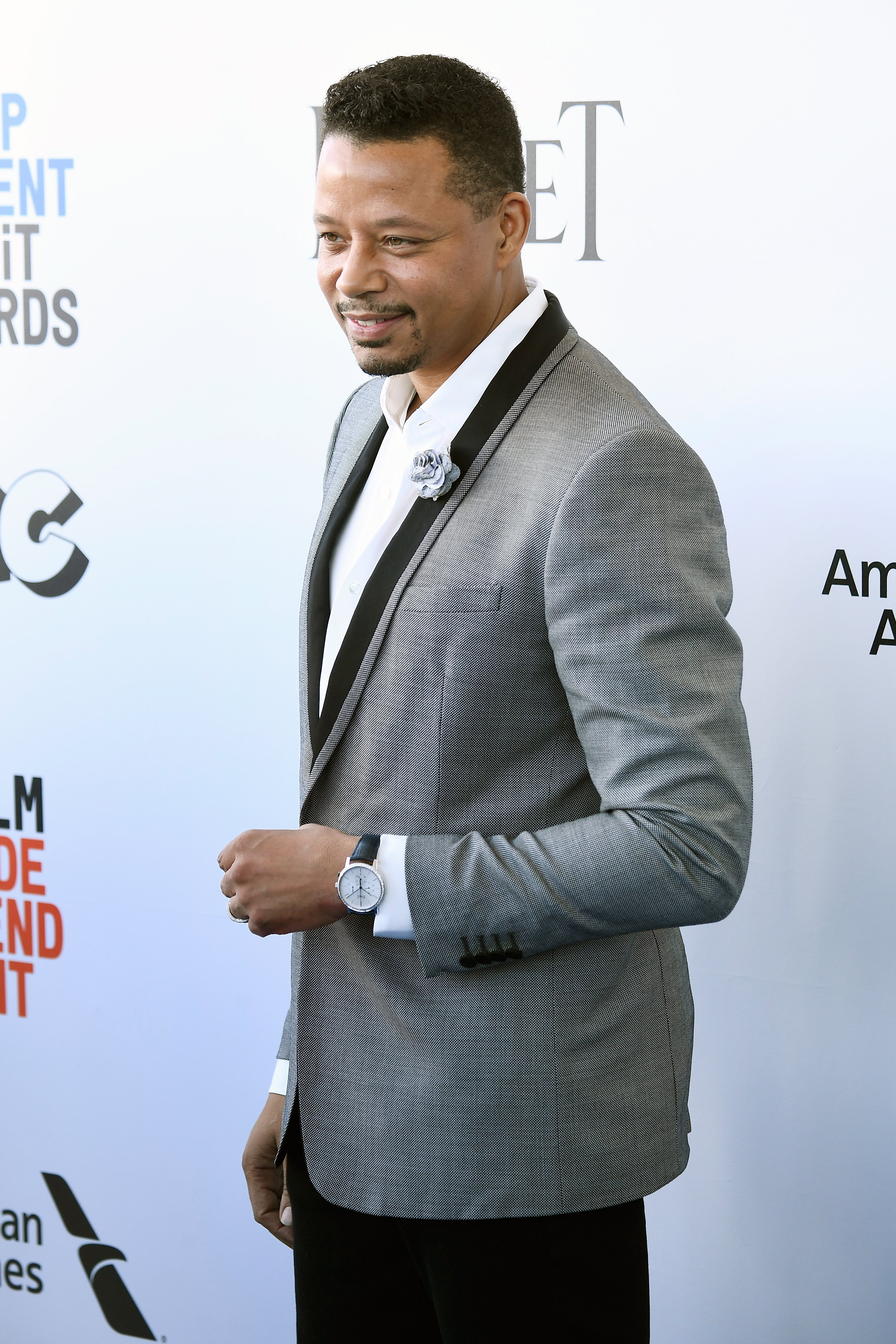 Terrence Howard at the 2017 Film Independent Spirit Awards on Feb. 25, 2017 in California | Photo: Getty Images