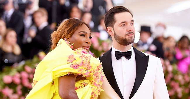 See Alexis Ohanian's Cute Snap with Daughter Olympia with a Puppy Filter Shared on Instagram