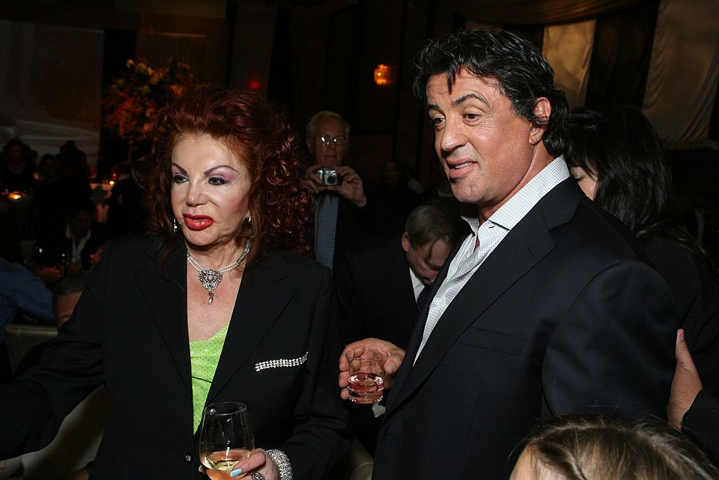 Sylvester Stallone et sa mère Jackie Stallone | Photo : Getty Images