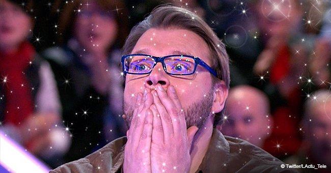 Benoît manifeste sa surprise après avoir franchi une grande étape. | Twitter/LActu_Tele