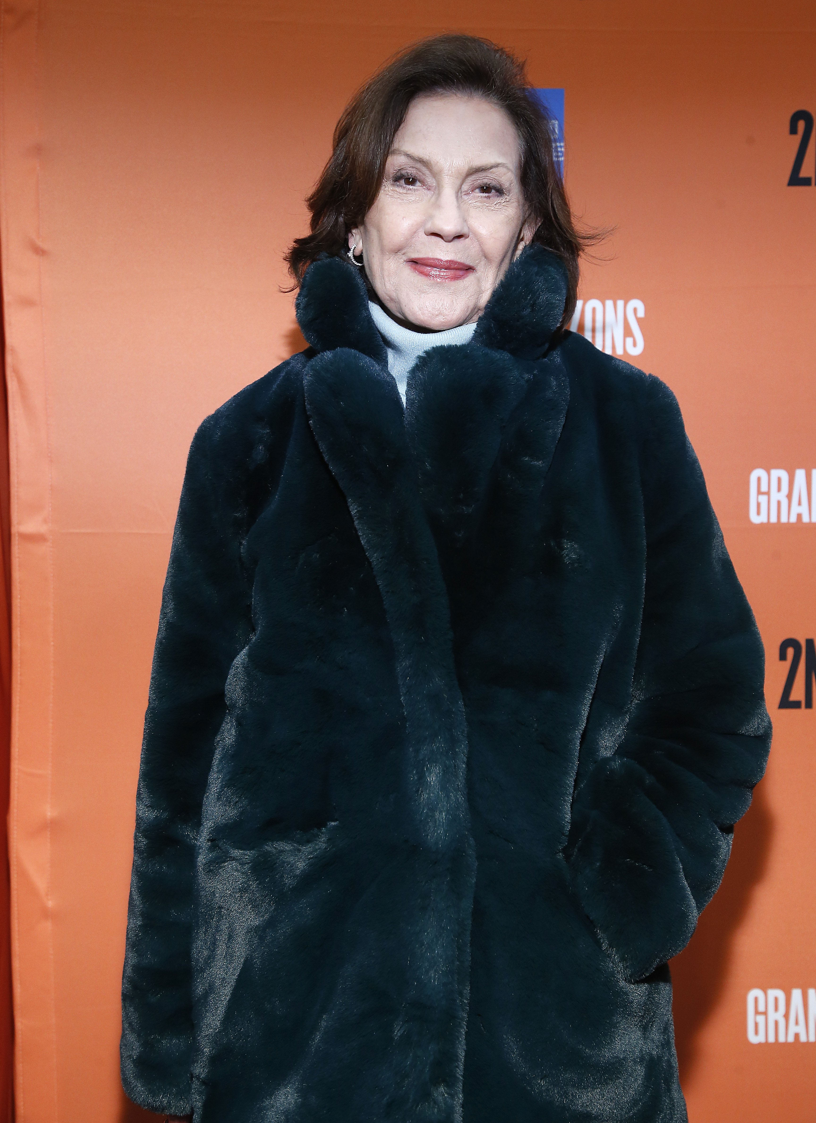Kelly Bishop im Hayes Theatre am 23. Januar 2020 in New York City. | Quelle: Getty Images