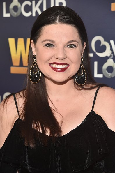 "Amy Duggar at WE tv celebrates the return of ""Love After Lockup"" in Beverly Hills, California.