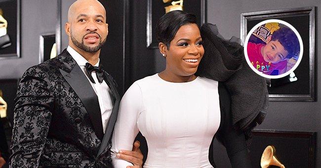 Fantasia Barrino and her husband Kendall Taylor.   Photo: Getty Images instagram.com/keziahlondontaylor