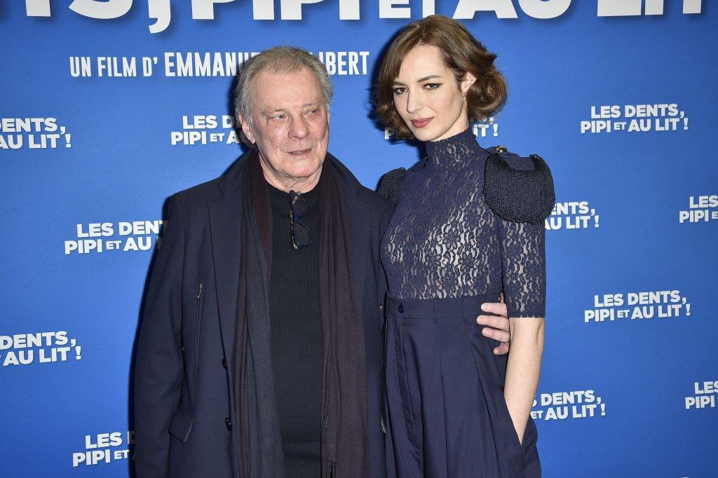 Herbert Léonard aux côtés de Louise Bourgoin. l Source : Getty Images