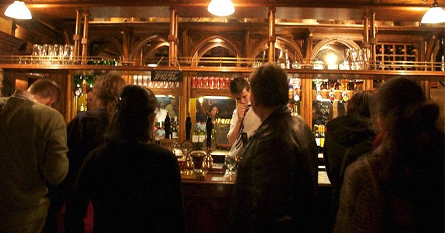 Daily Joke: A Drunk Man Struggles to the Door as a Pub Is Closing