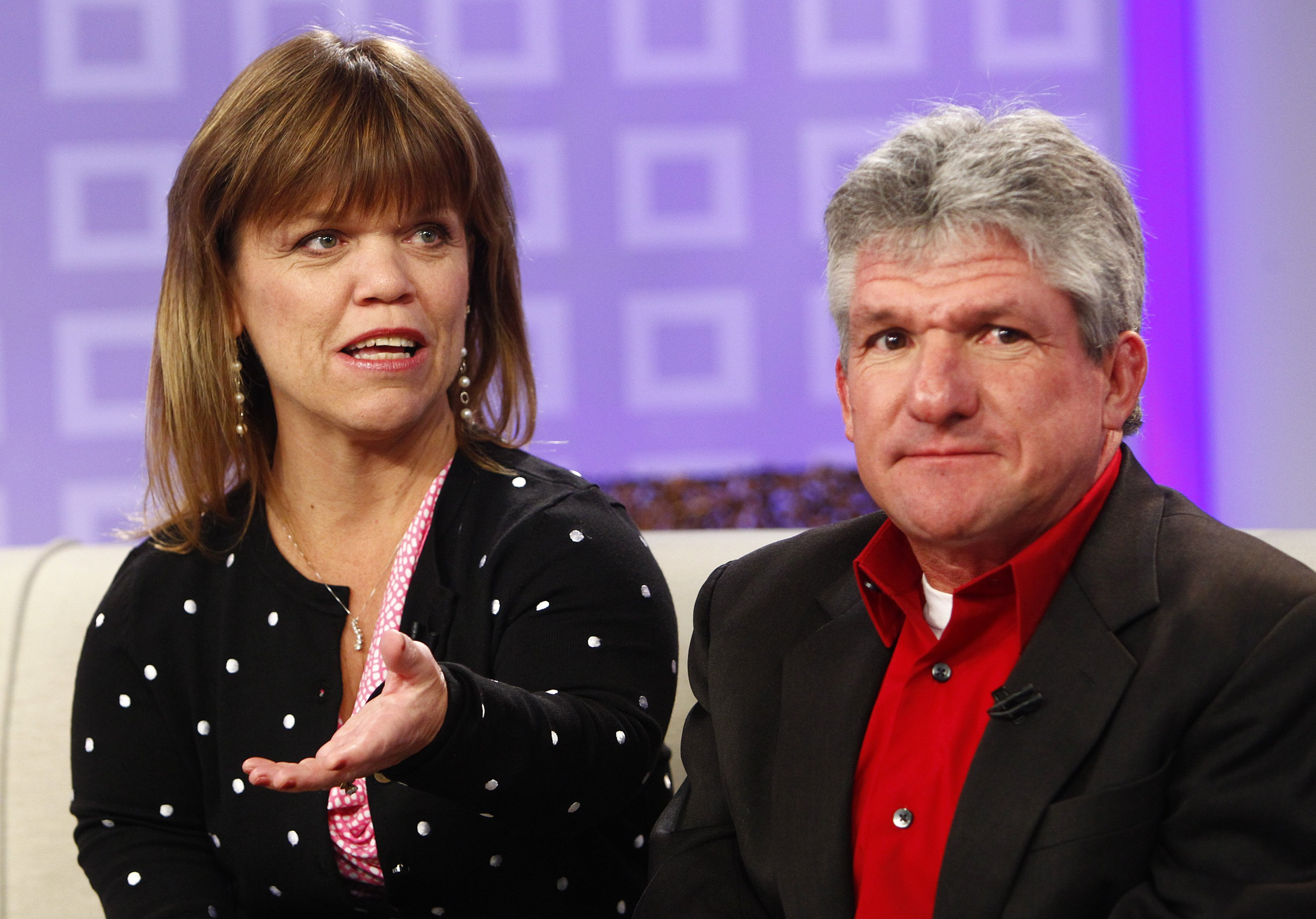 """Amy Roloff and Matt Roloff appear on NBC News' """"Today"""" show, Feb 2012