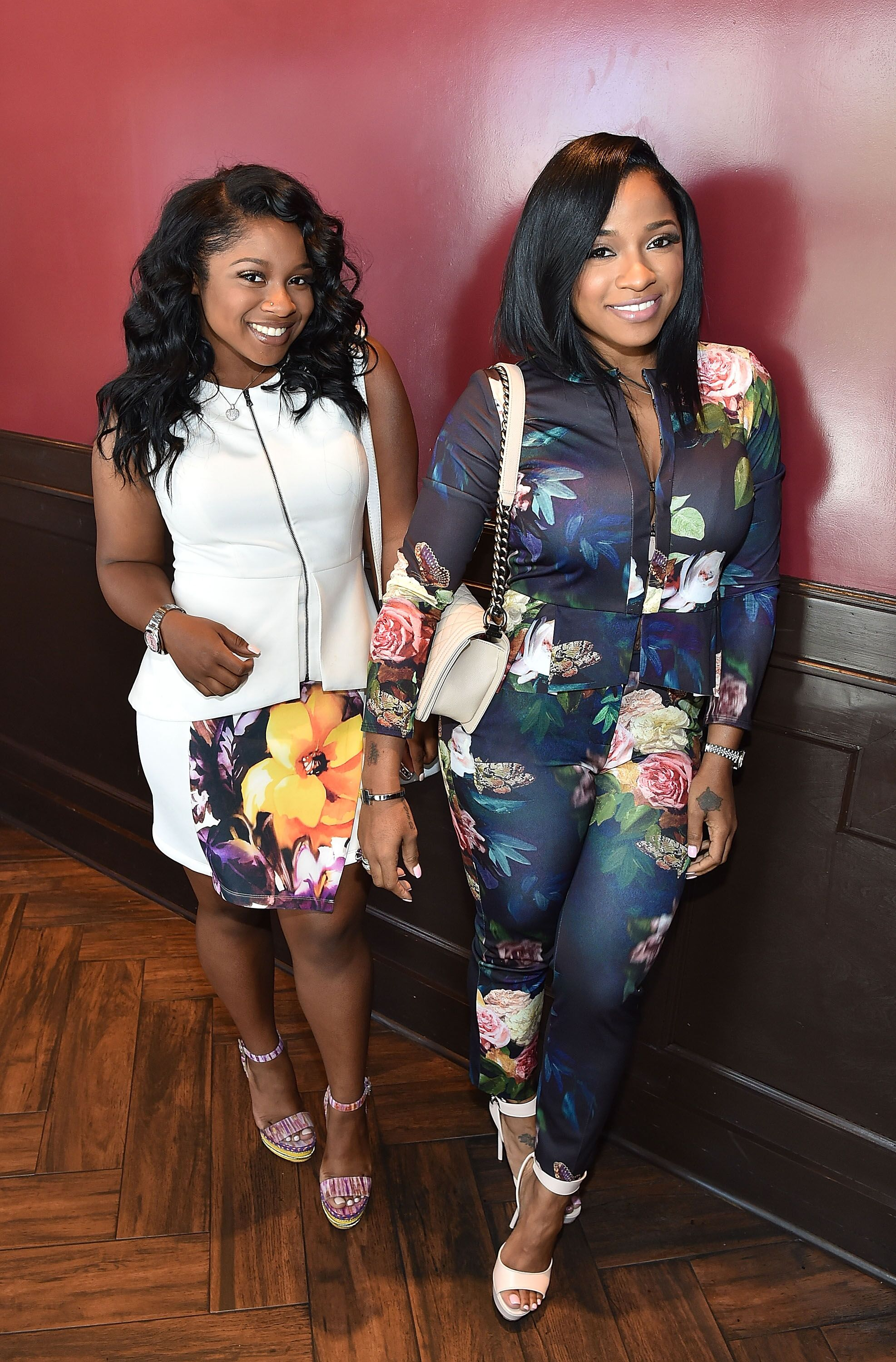 Reginae Carter and Toya Wright attend Tiny's 3rd Annual Mother Daughter Brunch Pageant at Scales 925 Restaurant on May 8, 2016 in Atlanta, Georgia | Photo: Getty Images