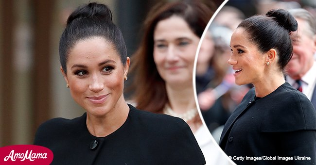 Meghan Markle debuts a brand new hairstyle for the first time since becoming a duchess