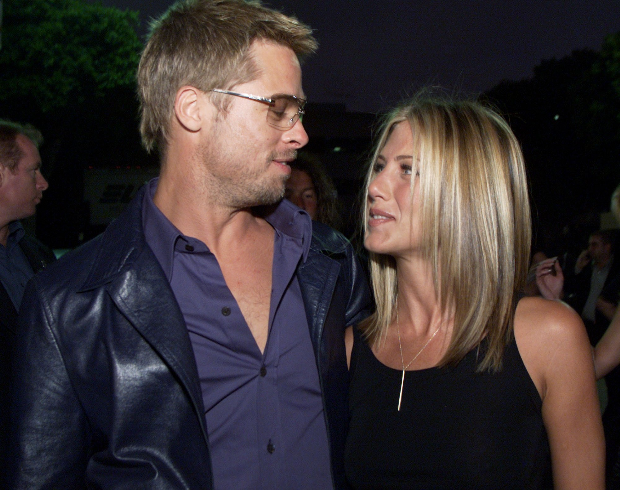 Brad Pitt und Jennifer Aniston. I Quelle: Getty Images