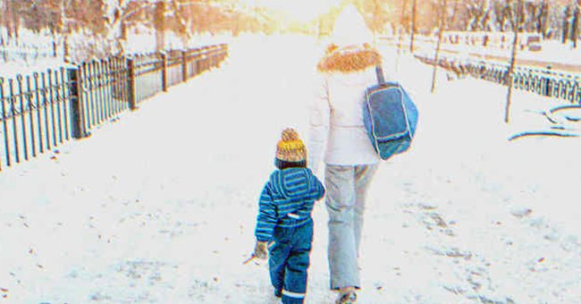 My son and I.   Photo: Shutterstock